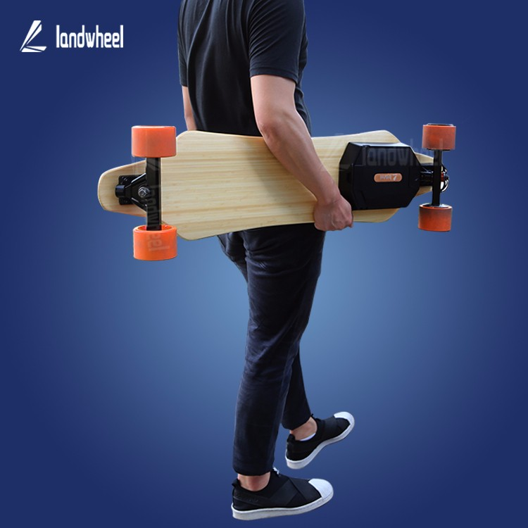 Newest waterproof wireless remote control electric skateboard original from Landwheel
