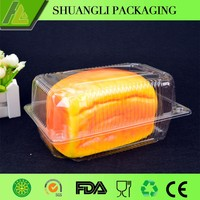 Clear transparent plastic bakery packaging supplies wholesale