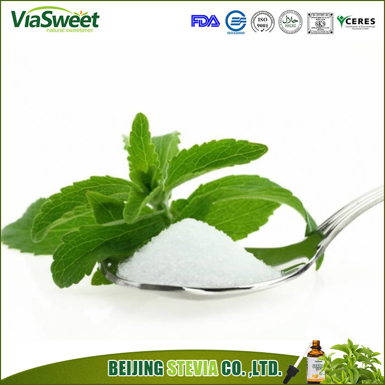 Free samples ViaSweet organic eco friendly stevia extract powder for wholesale