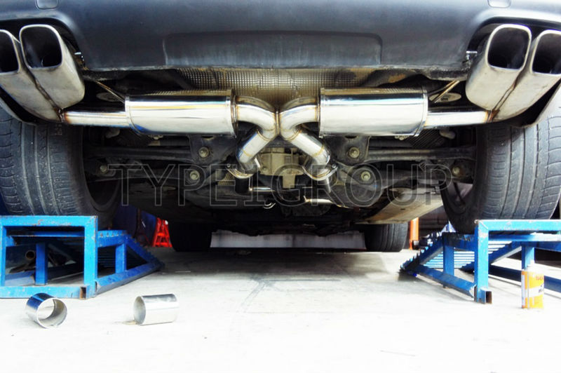 Stainless Exhaust System for Cayenne