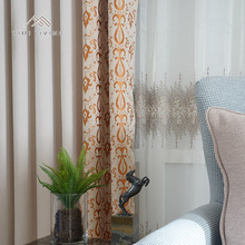 Made in China home textile oem lightproof jacquard party drapes