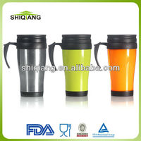 Double wall stainless steel auto canteen with pp lid BL-116A