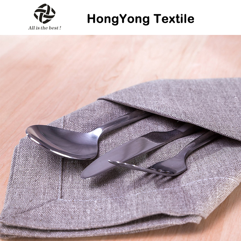 100% natural flax linen table napkin