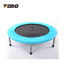 Fitness Tracker trampoline without safety net