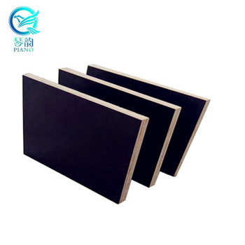 1220*2440 Melamine poplar core 18mm film faced plywood