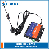 USR-GPRS232-730 Serial GPRS Modem RS232 RS485 Interface Flow Control RTS/CTS Supported