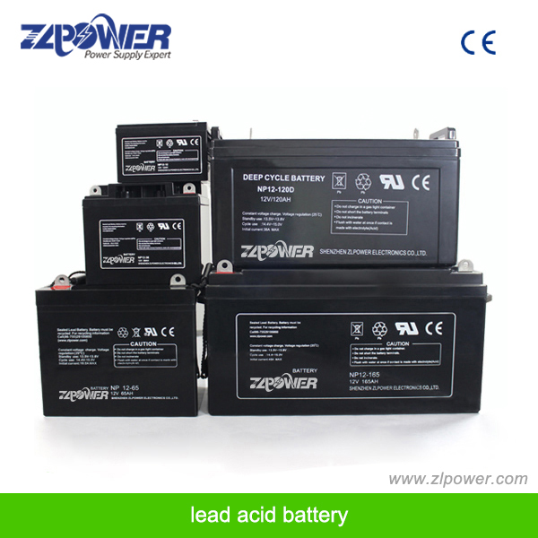 12V 100AH deep cycle AGM battery rechargeable UPS battery