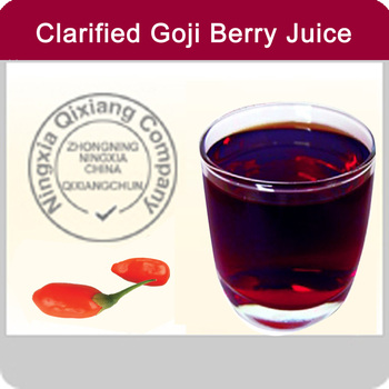 25% Brix Goji Berry Juice