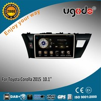 For Toyota Corolla 2014 2015 car radio gps navigator with android 4.4.4 RK PX3 quad core 1.8GHz CPU Radio GPS BT