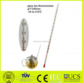 glass tea thermometer glass milk thermometer
