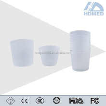 disposable medicine cup 30ml with scale for hospital patient drink medicine
