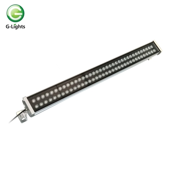 High Quality IP65 dmx rgb 72watt Led Wall Washer Lights