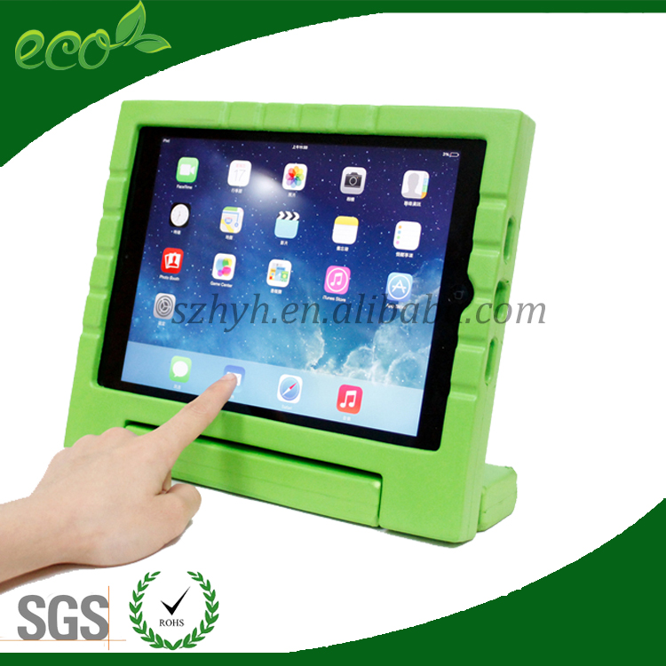 new arrival kids bumper kids protect waterproof rubber tablet case EVA tablet pc cover for ipad air