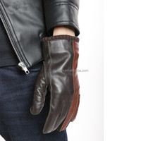 mens touch screen leather gloves smartphone accessories china gloves leather