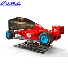 2018 Business Quick Return Hot Sale Adult Exciting VR Racing Car F1 Simulator Driving Game Machine With 3 Screens