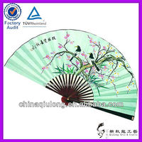 Custom Big Size Home Decoration Wall Paper Hand Fan