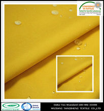 100% Recycled PET polyester 300d waterproof oxfod fabric for bags / coated oxford fabric