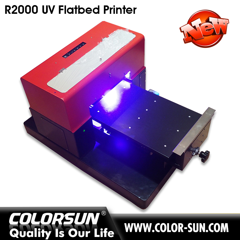 China Manufacture flatbed uv printer A3 with lowest price