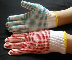 RL SAFETY gloves Coating Raised Dots on Front and Back side