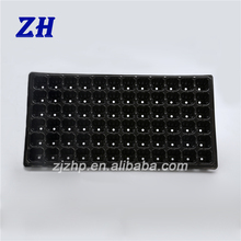 72 cells low plastic indoor plant paddy seed nursery tray