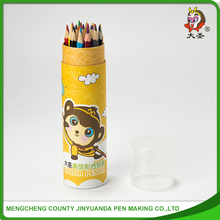China Wholesale Cheap Round Wooden color Pencil
