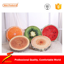 STABILE New household soft sofa cushion plush toys 3D printing fruit shape pillow