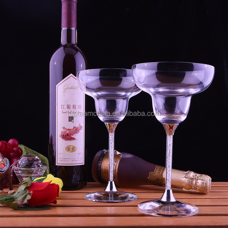 295 ml wide mouth elegant wine glass for important party
