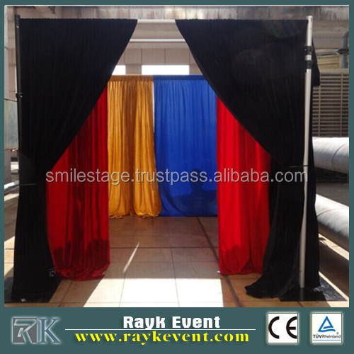 photo booth pipe and drape for sale with package