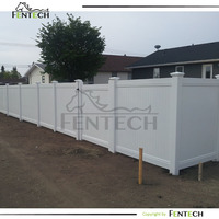 Innvotive design 6ftx8ft full privacy fencing