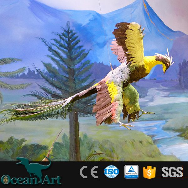 OAV2461Zoo equipment artificial animatronic parrot