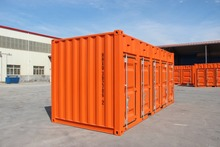5 open side door 20' shipping container sales in Japan