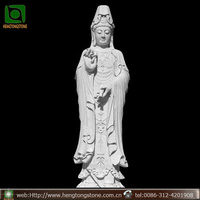 Stone the Goddess of Mercy Figure Sculpture