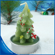 Wholesale the most popular Christmas Tree shape Magic candle