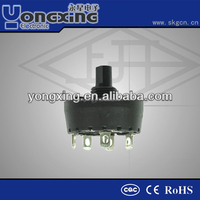 16A 250V CA ENEC17 CQC 4 pole 5 position rotary switch