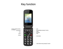 "Super Low Cost VKWORLD Z2 2.4"" large keypad cell phones320*480 800mAh Dual SIM FM Radio flip oem mobile phone manufacturers"