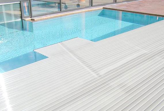 2015 hot sell insulation PC swimming pool cover replacement PVC slats