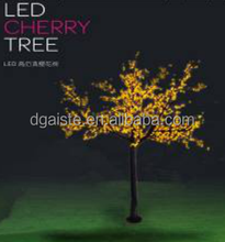 Indoor outdoor lighted cherry blossom trees with LED