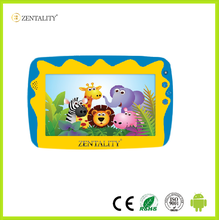 Shenzhen factory cheap price 7 inch wifi educational kids tablet pc with silicone case
