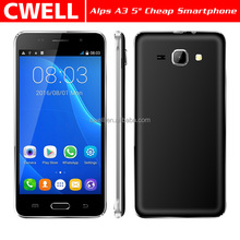 brand new cheap android phone android apps free download Alps A3 5 inch WCDMA 3G Low Price China Android Mobile Phone