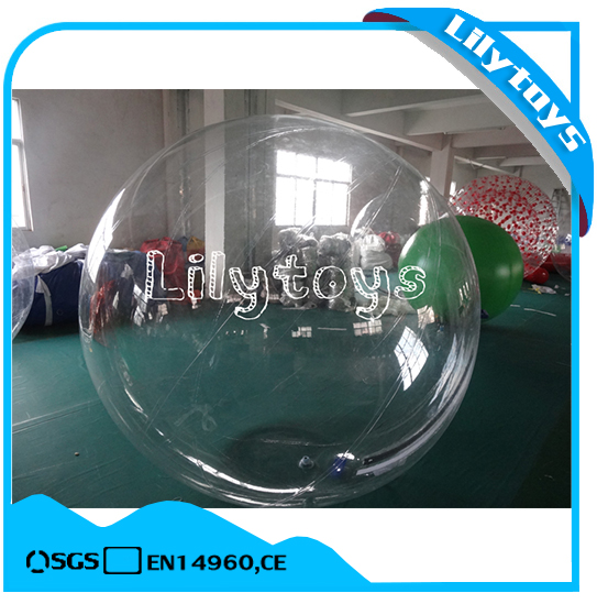 1.0mm TPU Transparent inflatable walking water ball for sale