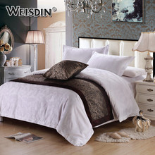 New arrival hotel textile products bedding article comforter sets cotton luxury bedding sheet set