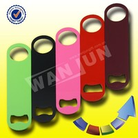 bar blade round blank bottle opener