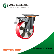 Heavy duty cart or trolley swivel caster wheels
