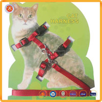 Customized Heavy Duty High Quality Pet leashes Cat Harness