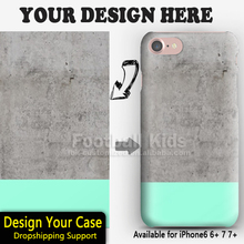 For iPhone 6 6s Case Unique Custom Painting 3D Sublimation DIY PC Custom Phone Cases Cover for iPhone 6 6s
