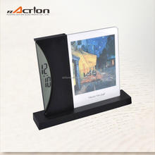 Morden Artistic Photo Frame Clock 3d Table Clock Inserts