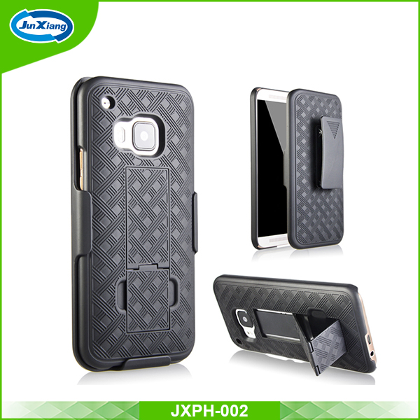 New 2016 mobile accessories plastic holster case for HTC M9