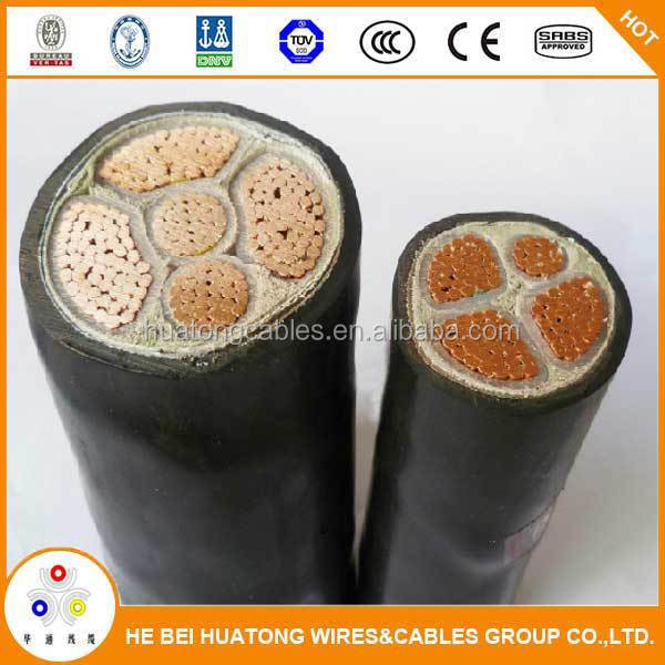 China suppliers 0.6/1kv cu/xlpe/sta/pvc power cables