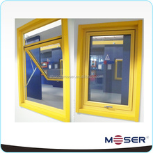 thermal break aluminum alloy awning double glazed windows and doors