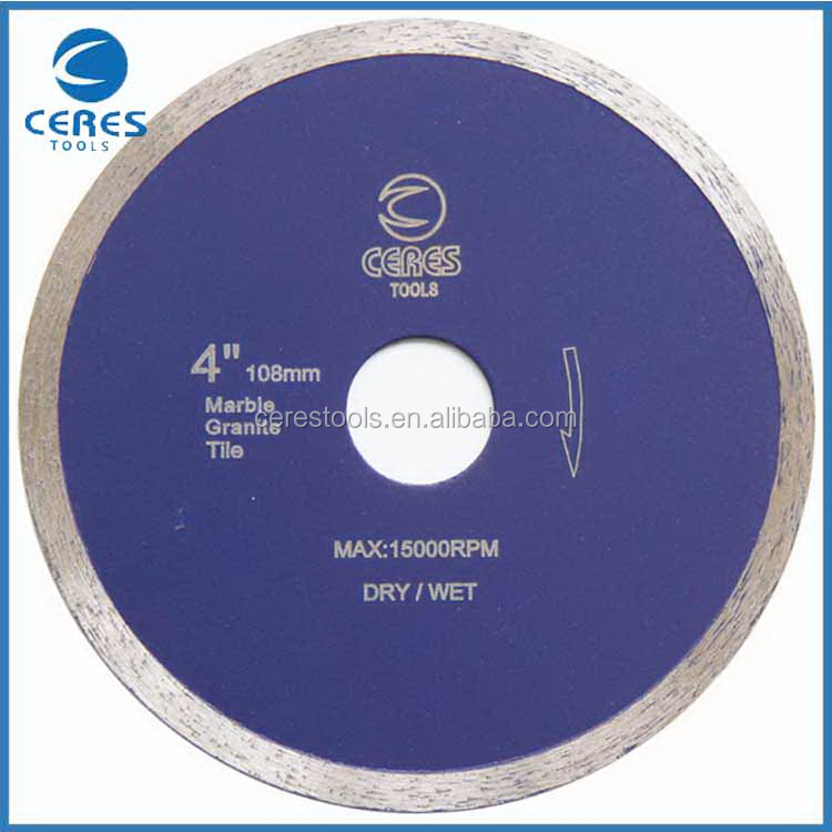 Wholesale cheap high reflective diamond curved cutting saw blade